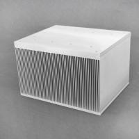 Buy cheap Double Base Stacked Fin Aluminium Extrusion Profiles Igbt Led Heatsink product