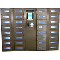 Buy cheap Stainless Steel Vending Locker With LED Lights And Transparent Doors Remote Control Function product