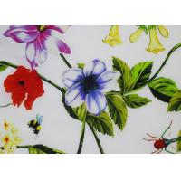 Buy cheap Shrink Resistant Silk Crepe Fabric 12 Mm , Italian Printed Silk Scarf Woven from wholesalers