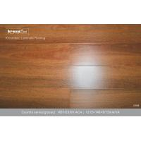 Buy cheap Strong flame retardant E1 Rosewood HDF Laminate Flooring FOR Hotels / Bedroom from wholesalers