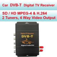 Buy cheap MPEG-4 / H.264 DVB-T In Car Digital TV Receiver Aluminium Alloy Material from wholesalers