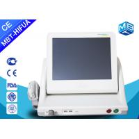Buy cheap Portable Ultrasound Machine HIFU Face Lifting Machine / Anti Aging Device For Beauty Salon from wholesalers