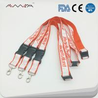 Buy cheap High quality Personalized Polyester Custom sublimation ID Key Lanyards from wholesalers
