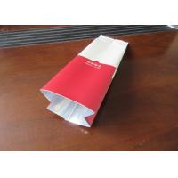 Buy cheap Resealable Coffee Packaging Bags With Valve , Stand Up Coffee Pouch product