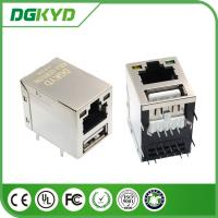 Buy cheap USB Hub RJ45 USB Connector led single USB for optical transceiver from wholesalers