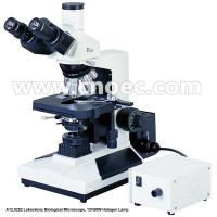 Buy cheap 40X - 1000X Biological Microscope 12V / 50W Halogen Lamp With CE A12.0202 from wholesalers