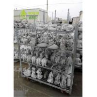 Buy cheap Transporting Garden Flower Cart Garden Center Carts Welded Mesh High Performance from wholesalers