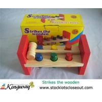Buy cheap Closeout,stocklot,liquidators,surplus,overstock,excess inventory wooden toy set from wholesalers