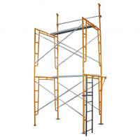 Buy cheap Color Painted Steel H frame scaffolding system , OEM Scaffold Tower from wholesalers