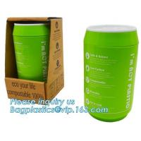 Buy cheap Coffee cup, PLA compostable cups, water cup, compostable cupcake coffee, disposable coffee cup from wholesalers