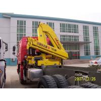 Buy cheap Sinotruk Tractor Truck Mounted Cranes Equipment 336hp 6×4 XCMG12 Tons Crane from wholesalers