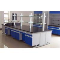 Buy cheap Chemical Resistant Lab Tables Work Benches Steel And Wood With Phenolic Resin Top from wholesalers