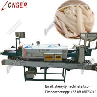 Buy cheap Commercial Rice Noodle Making Machine, Flat Rice Noodles Maker from wholesalers