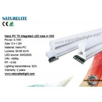Buy cheap Nano PC T5 integrated LED Tube 4-15W 90-95lm/W CRI>80Ra for Counter Display Lighting from wholesalers