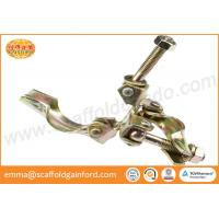 Buy cheap Scaffolding Q235 British pressed fixed coupler double clamp in Thailand bridge project from wholesalers