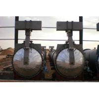 Buy cheap Saturated Steam Chemical Concrete Autoclave Φ3m For Wood / Brick / Rubber / Food product