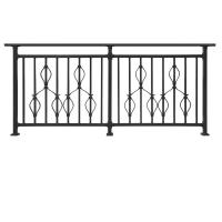 Buy cheap YT006 Terrace railing designs metal railing for balcony Hot-dipped Galvanized railing for balcony railing from wholesalers
