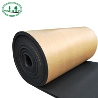 Buy cheap Black Self Adhesive 40mm Rubber Insulation Roll from wholesalers