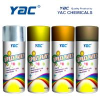 Buy cheap Many Colors Acrylic Lacquer Spray Paint Excellent Hardness Film Impact Resistance from wholesalers