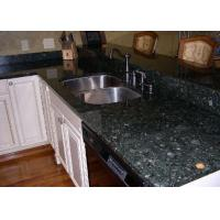 Buy cheap Custom Kitchen Granite Slab Countertops Butterfly Green Color Polish Finished from wholesalers
