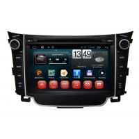 Buy cheap 7 Inch Car DVD Radio Bluetooth HYUNDAI DVD Player for i30 from wholesalers