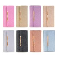 Buy cheap 2 in1 With Portable chain Hand Bling Crystal Diamond leather wallet phone case for samsung note 8 from wholesalers