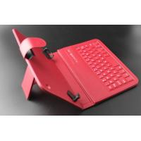 "Buy cheap Red Long Battery Light Wireless Tablet Keyboard Case 8"" / 7'' 200mah product"