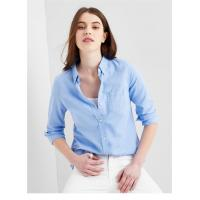 Buy cheap Ladies fashion oxford casual blouse shirt plain shirt wholesale OEM custom made logo from wholesalers