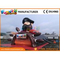 Buy cheap Pirate Inflatable Party Tent , outdoor inflatable Football Helmet Tunnel from wholesalers