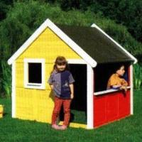 Buy cheap Doll House, Made of Wooden with Color Teak Oil Paint from wholesalers