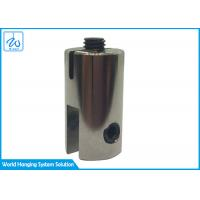 Buy cheap High Quality Single Sided Glass Clamp For Wire Cable Display System from wholesalers