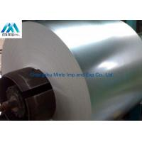 Buy cheap Hot Rolled Coil Steel Galvanized Sheet Metal Rolls Regular Spangle Surface from wholesalers