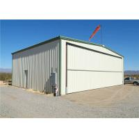 Buy cheap Q235 Q345 Low Carbon Steel Structure Hangar With Hot Dipped Galvanized from wholesalers