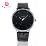 Buy cheap Lover Luxury Leather Student Wrist Watch Waterproof Elegant Black Color from wholesalers