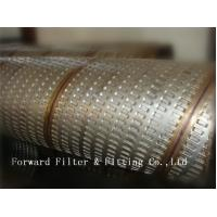 Buy cheap 316L Stainless Steel Perforated Metal Tube For Tubing Strength And Decorative from wholesalers