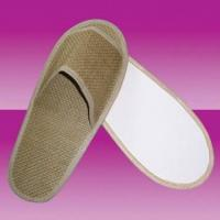 hotel Eco-friendly knitted paper open toe slippers
