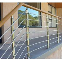 Buy cheap Exterior prefab railing stainless steel inox rod railing design for porch product