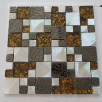 304 STAINLESS STEEL MOSAIC TILES WITH GLASS(EMBOSING TILES )
