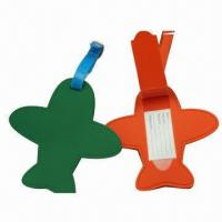 Buy cheap Luggage Tags, Various Shapes are Available, Colorful, Suitable for Promotional product