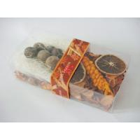 Buy cheap Orange Chinese Incense Seed Fragrance Potpourri Bags For Holiday Gift product