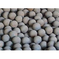 Buy cheap Cast Iron Automobile Forged Steel Grinding Balls for Mining / Cement Plants Hardness 56 - 62 HRC product