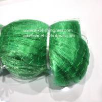 China High quality Green Silk Nets ,hot sale in European market,depthway,nylon twine selvage,strong knot,low price! on sale