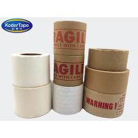 Buy cheap Easy Tear Strong Adhesion Thickness 5.1 Mils Kraft Paper Sealing Tape from wholesalers