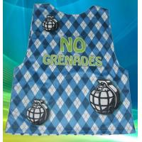 Buy cheap custom sublimation lacrosse reversible  pinniy  lacrosse gear 100% polyester jerseys from wholesalers