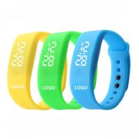 Buy cheap Promotional LED silicone watch Silicone logo customized colorful from wholesalers