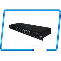 Buy cheap Stage show 19 rack mountable 8 ways DMX splitter , Light Signal Booster CE approved from wholesalers