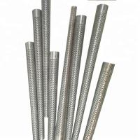 Buy cheap 0.35-0.5 Mm Thickness Perforated Stainless Steel Tubing  , Stainless Steel Pipe Filter from wholesalers