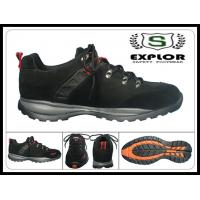 Buy cheap Men's safety shoes comfortable work shoes with steel toe safety shoes black from wholesalers