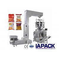 Buy cheap Multifunctional Granule Packing Machine 10 - 500g Filling Range 180 - 420mm Film Roll Width from wholesalers