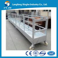 Buy cheap Cleaning equipment ZLP800/scaffolding platform/building glass cleaning machine from wholesalers